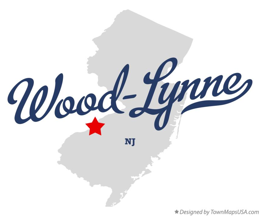 Map of Wood-Lynne New Jersey NJ