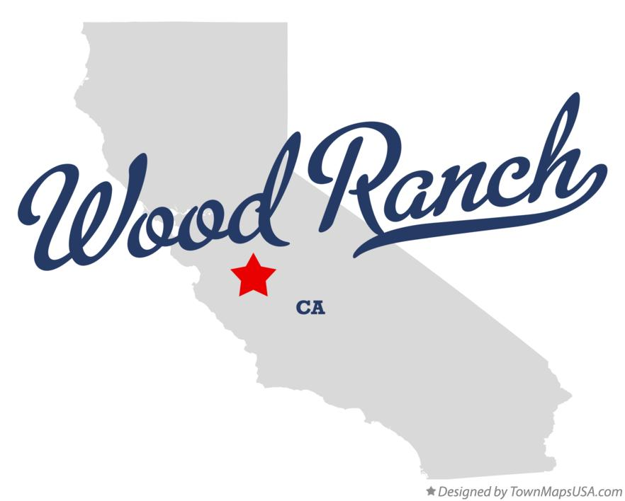 Map Of Wood Ranch, CA, California - Wood Ranch Ca WB Designs