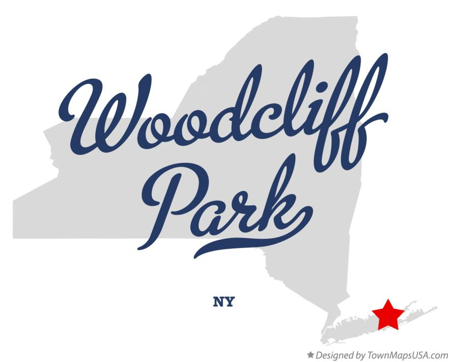 Map of Woodcliff Park New York NY