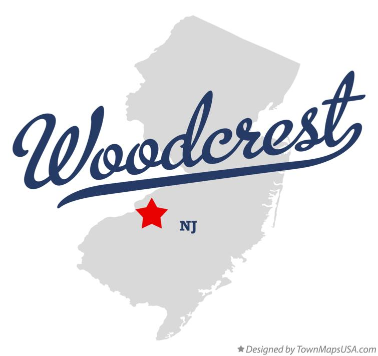 Map of Woodcrest New Jersey NJ
