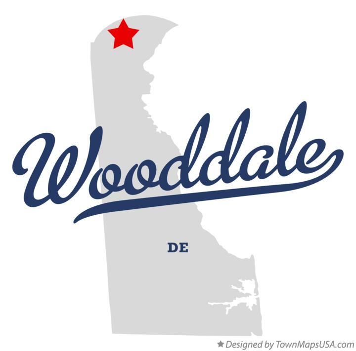 Map of Wooddale Delaware DE