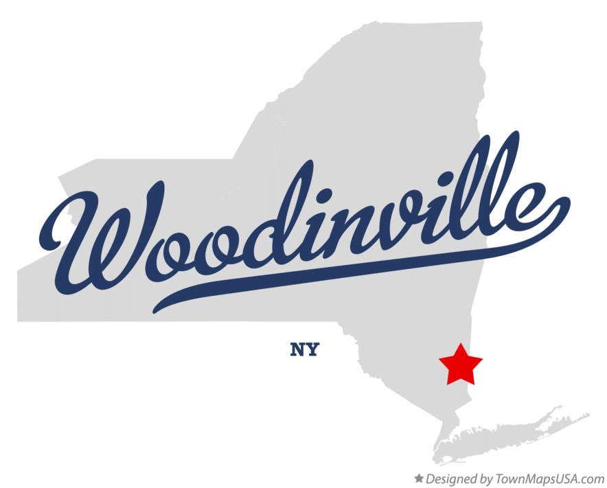 Map of Woodinville New York NY