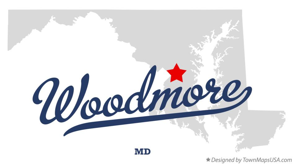 Map of Woodmore Maryland MD