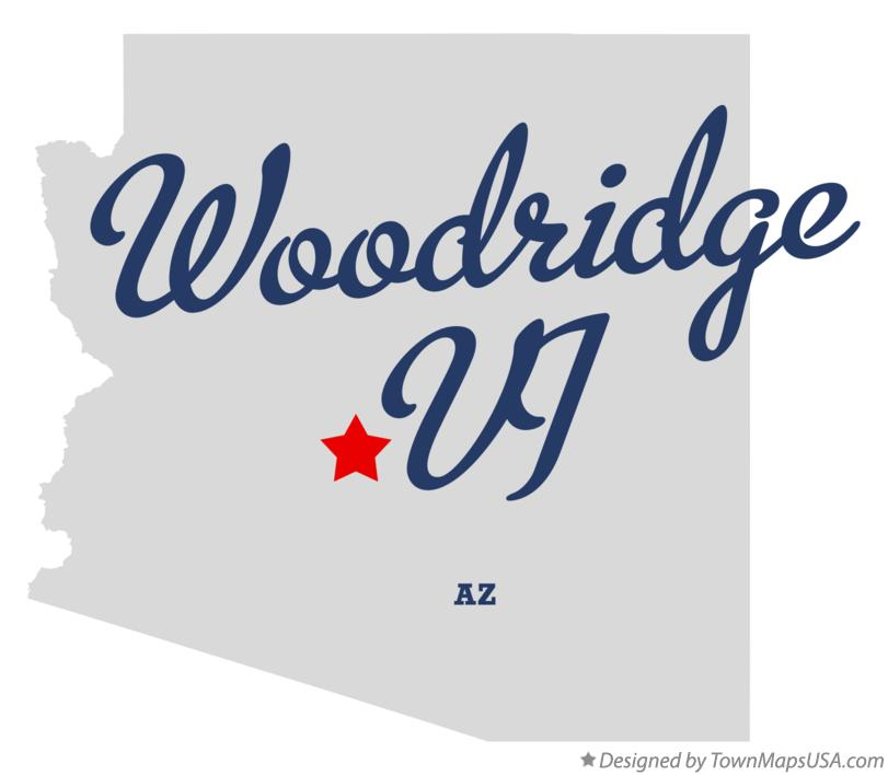Map of Woodridge VI Arizona AZ
