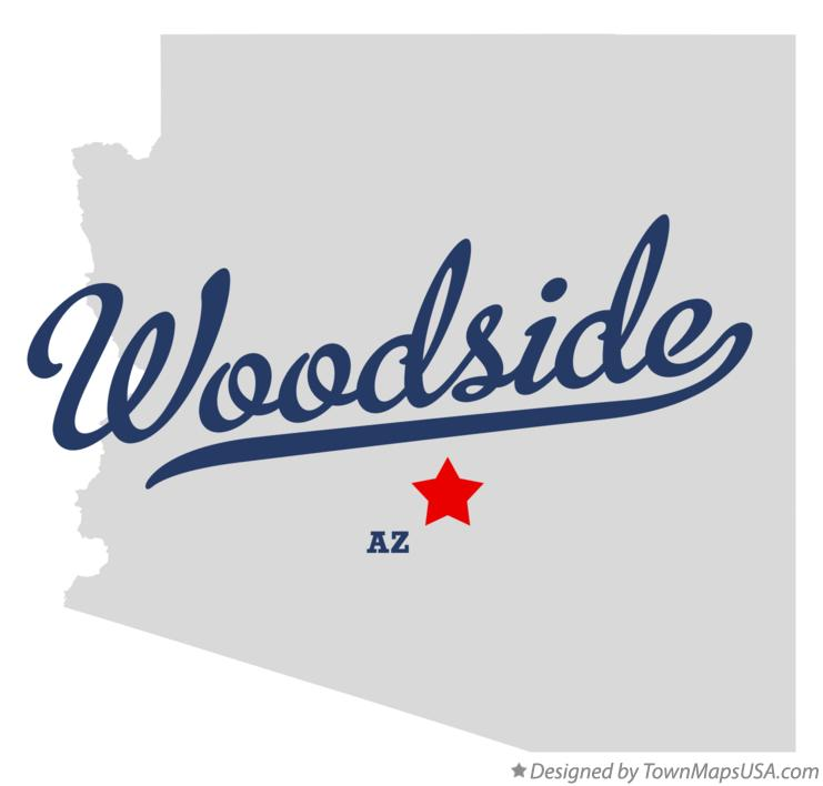 Map of Woodside Arizona AZ