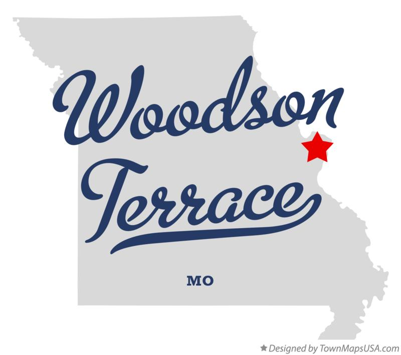 Woodson Terrace (MO) United States  city pictures gallery : Map of Woodson Terrace, MO, Missouri