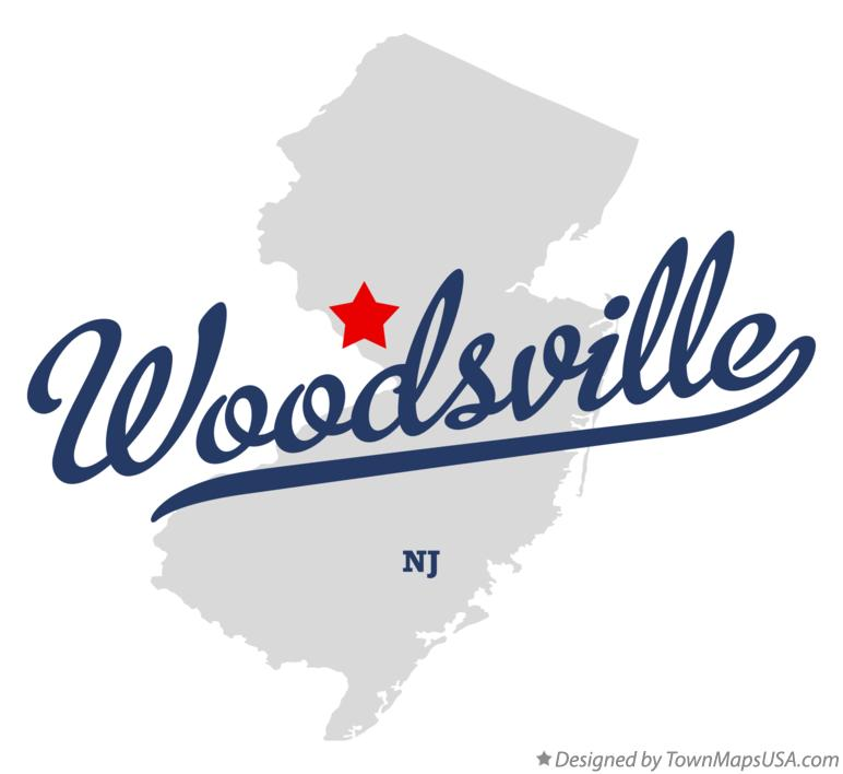 Map of Woodsville New Jersey NJ
