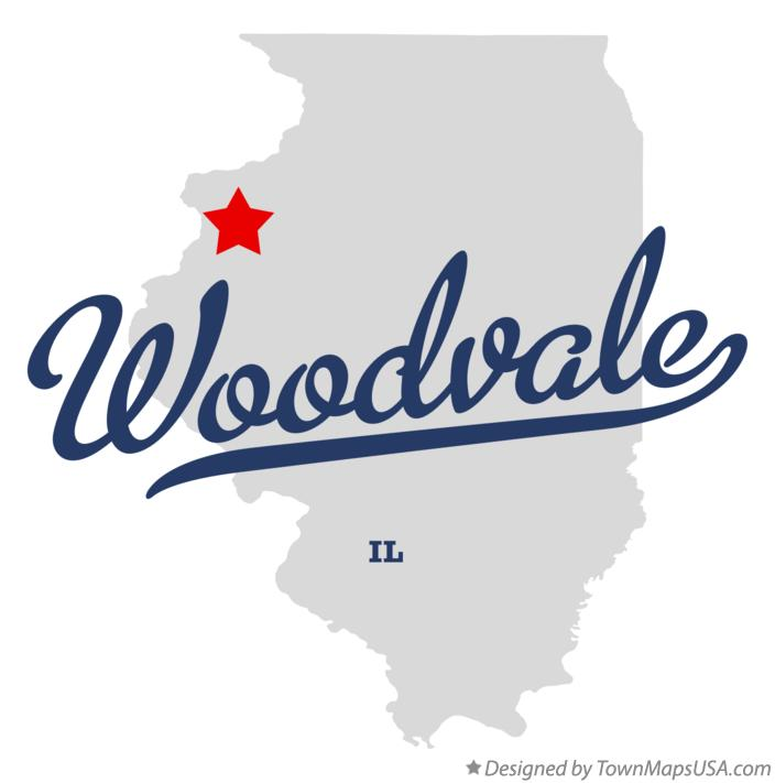 Map of Woodvale Illinois IL