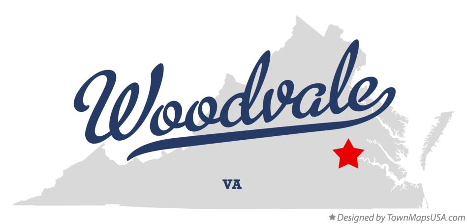 Map of Woodvale Virginia VA