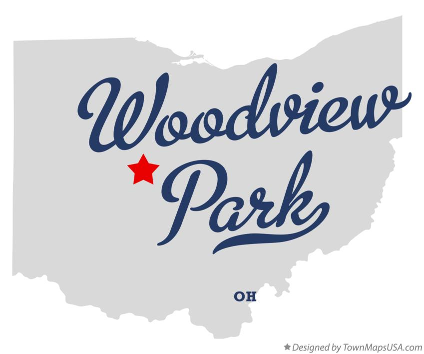 Map of Woodview Park Ohio OH