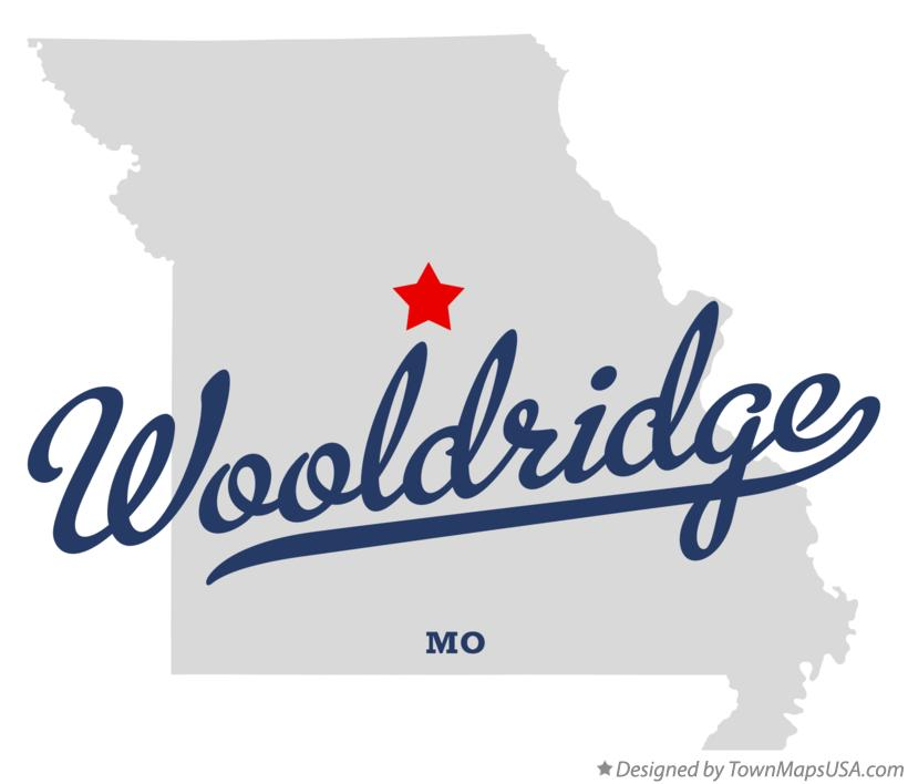 Map of Wooldridge Missouri MO