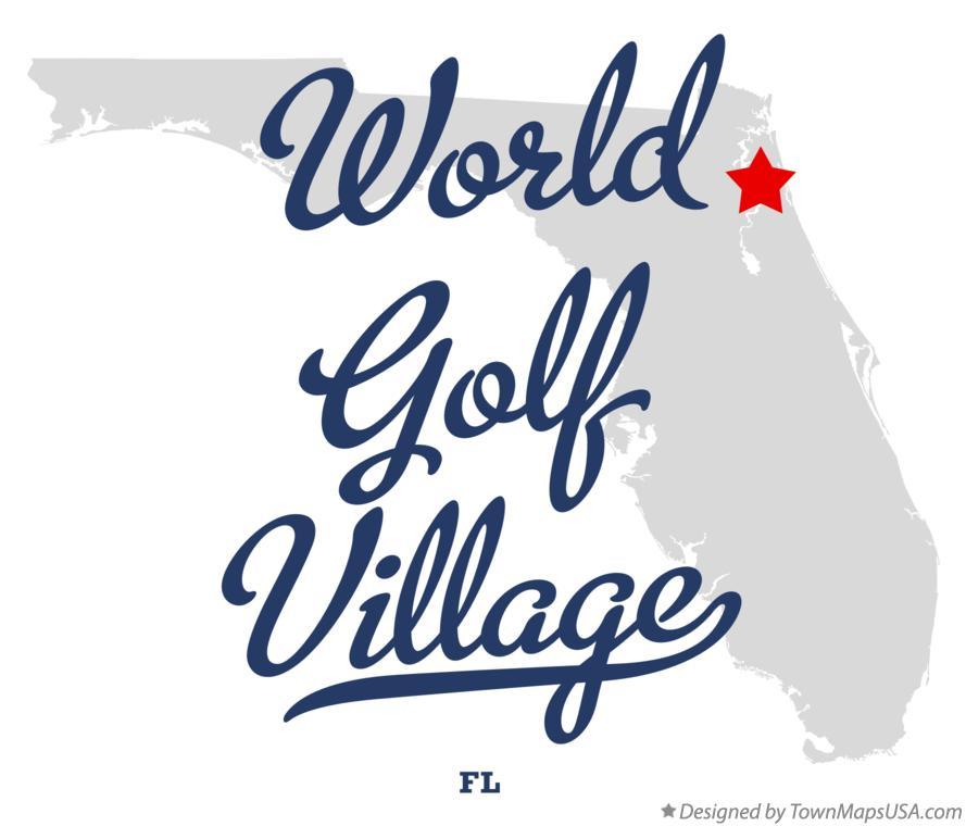 Map of World Golf Village FL Florida – Map World Golf Village