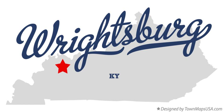 Map of Wrightsburg Kentucky KY