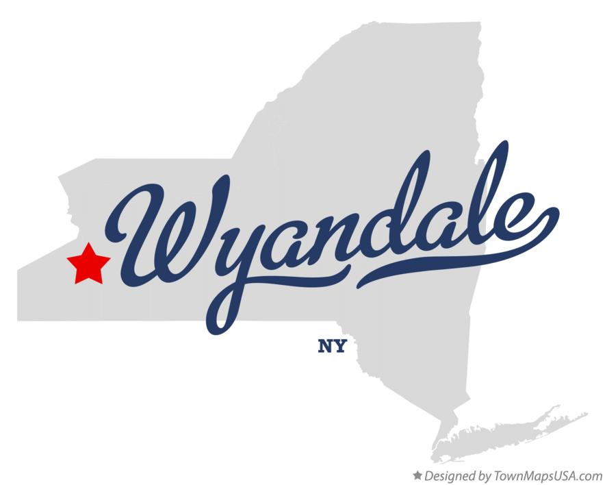Map of Wyandale New York NY
