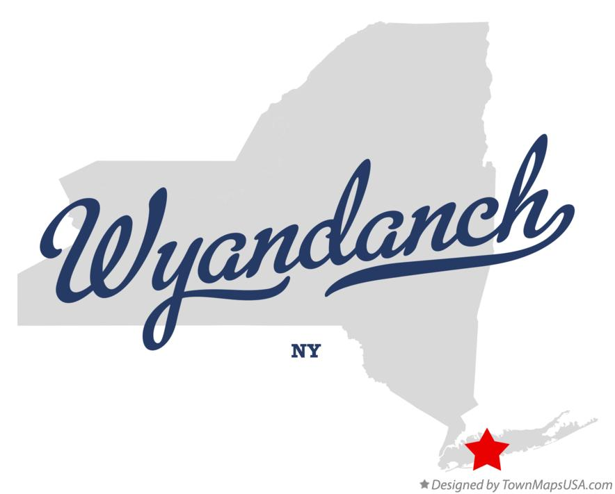 Map of Wyandanch New York NY