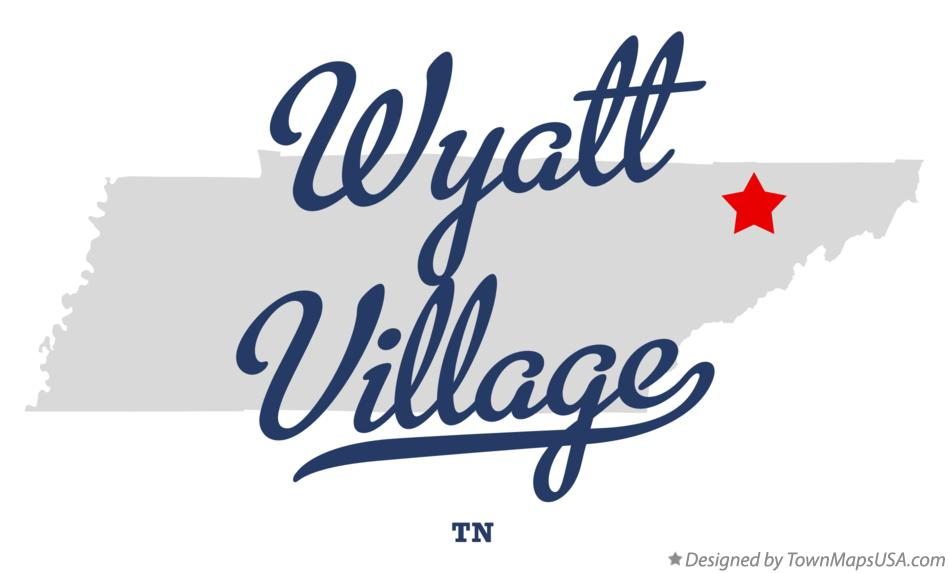 Map of Wyatt Village Tennessee TN