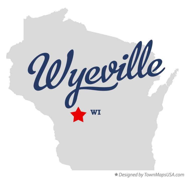 Map of Wyeville Wisconsin WI