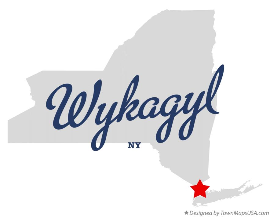 Map of Wykagyl New York NY