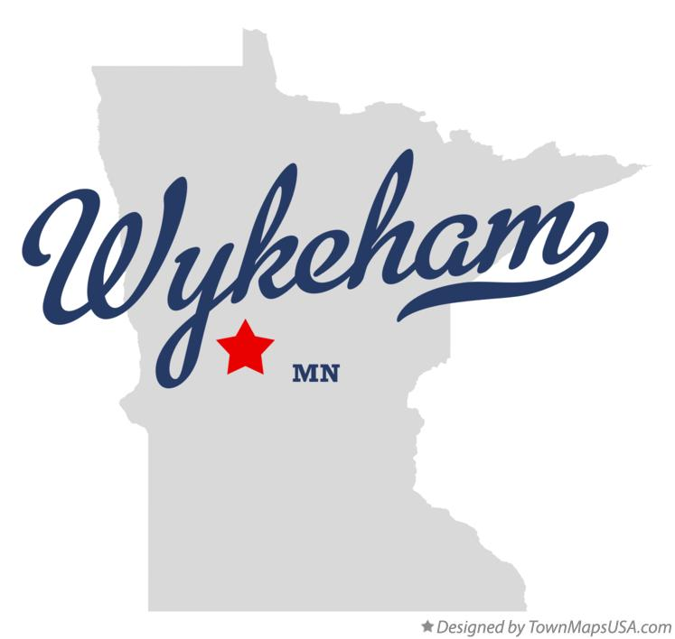 Map of Wykeham Minnesota MN
