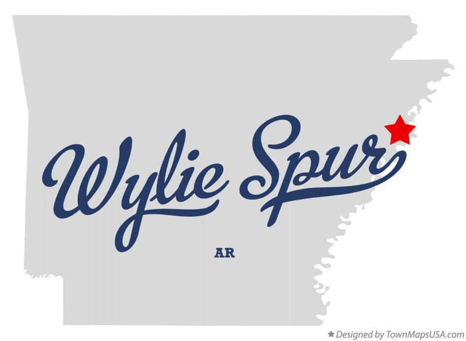 Map of Wylie Spur Arkansas AR