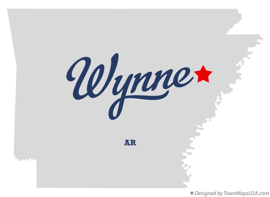 map of wynne arkansas Map Of Wynne Ar Arkansas map of wynne arkansas