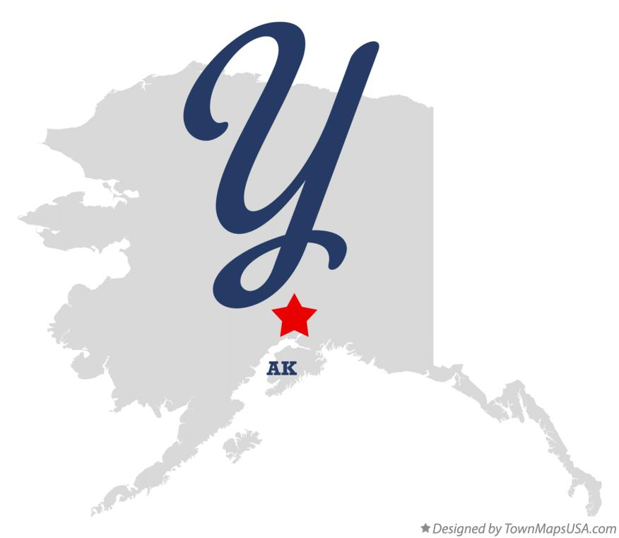 Map of Y Alaska AK