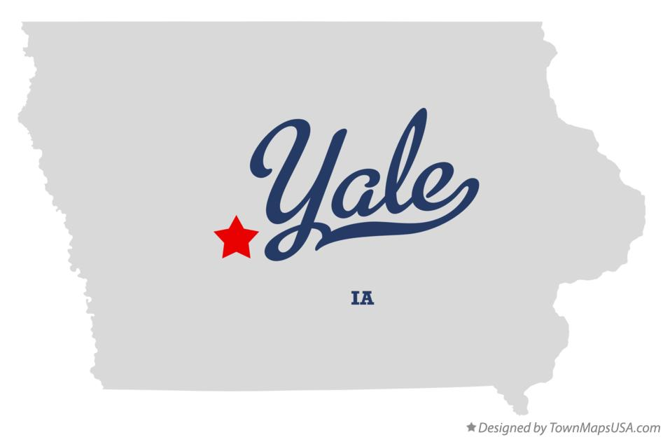 Map of Yale Iowa IA