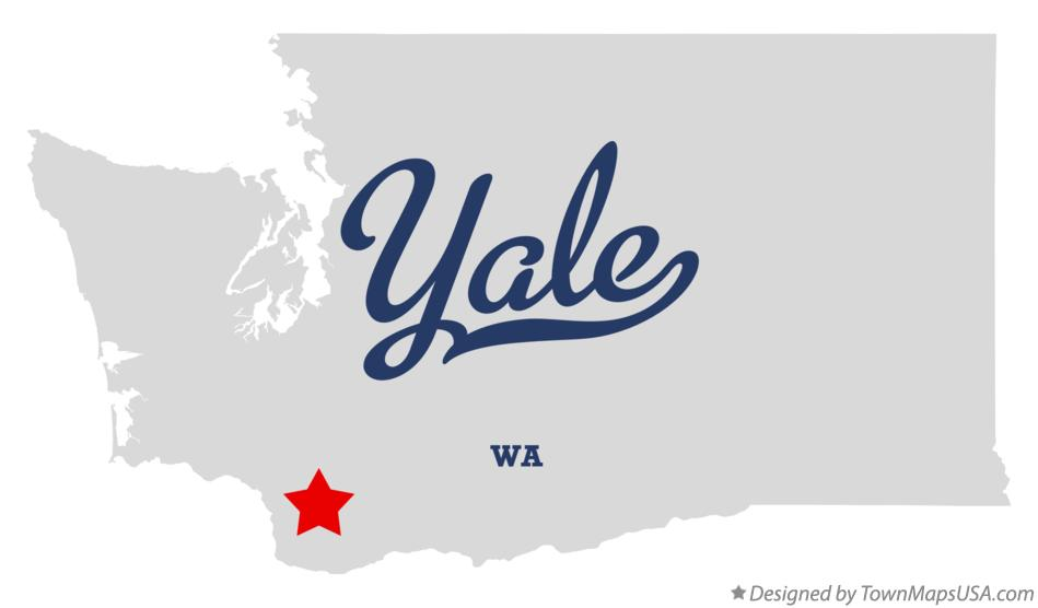 Map of Yale Washington WA