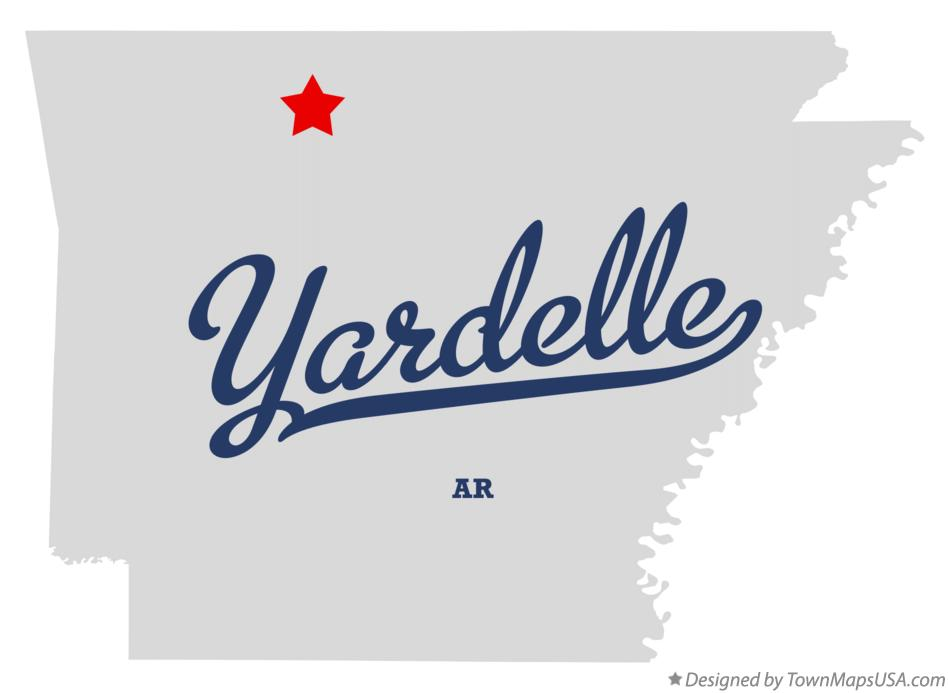 Map of Yardelle Arkansas AR