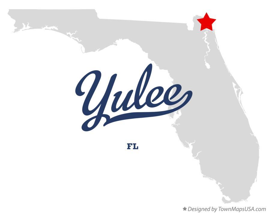 Map of Yulee, FL, Florida