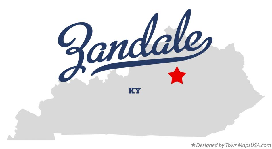 Map of Zandale Kentucky KY