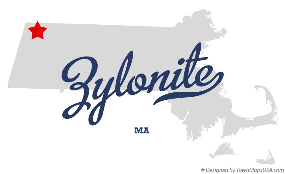 Map of Zylonite Massachusetts MA