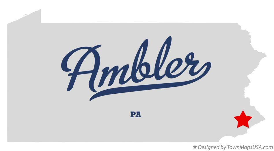 Image result for ambler pa map