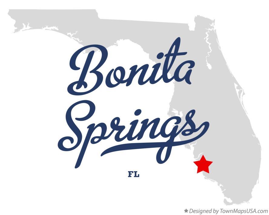 Bonita Springs Florida Map Map of Bonita Springs, FL, Florida Bonita Springs Florida Map