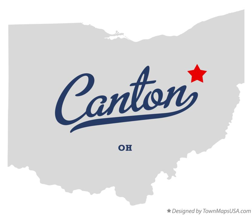 Map Of Canton Ohio Map of Canton, OH, Ohio Map Of Canton Ohio