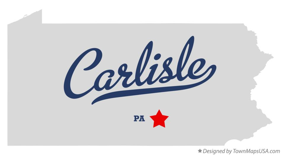 Carlisle Pa Map Map of Carlisle, PA, Pennsylvania Carlisle Pa Map