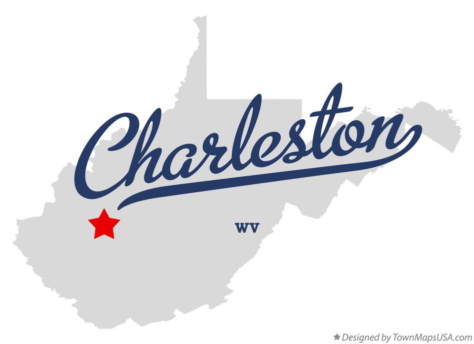 Charleston Wv Map Map of Charleston, WV, West Virginia Charleston Wv Map