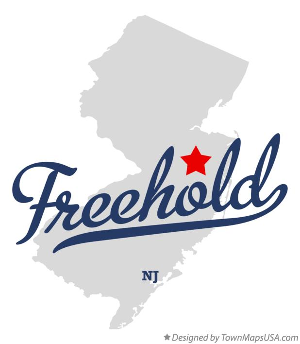 Freehold Nj Map Map of Freehold, NJ, New Jersey Freehold Nj Map