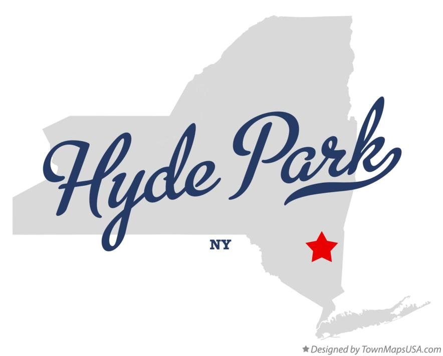 Hyde Park Ny Map Map of Hyde Park, Dutchess County, NY, New York