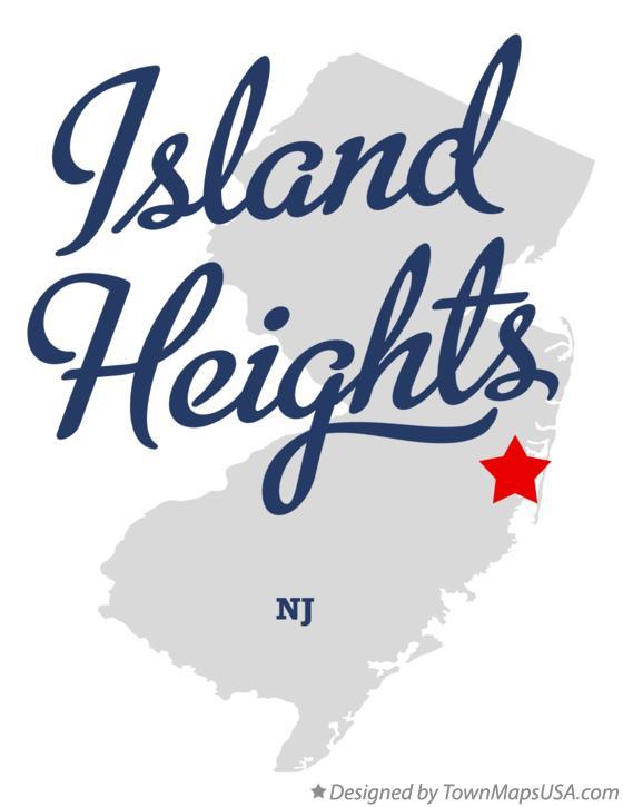 Island Heights Nj Map Map of Island Heights, NJ, New Jersey