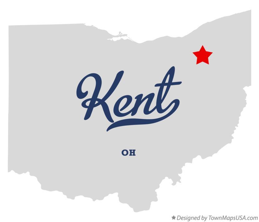 Kent Ohio Map Map of Kent, OH, Ohio Kent Ohio Map