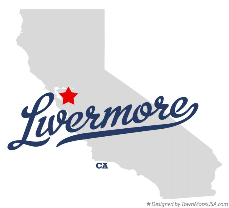 Livermore Ca Map Map of Livermore, CA, California Livermore Ca Map