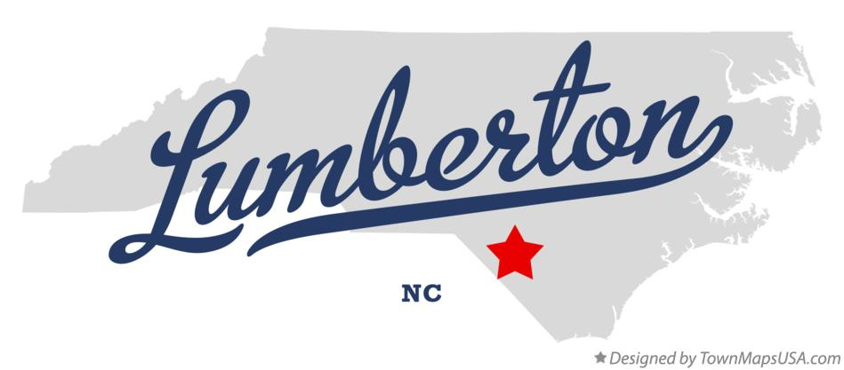 Lumberton Nc Map Map of Lumberton, NC, North Carolina Lumberton Nc Map