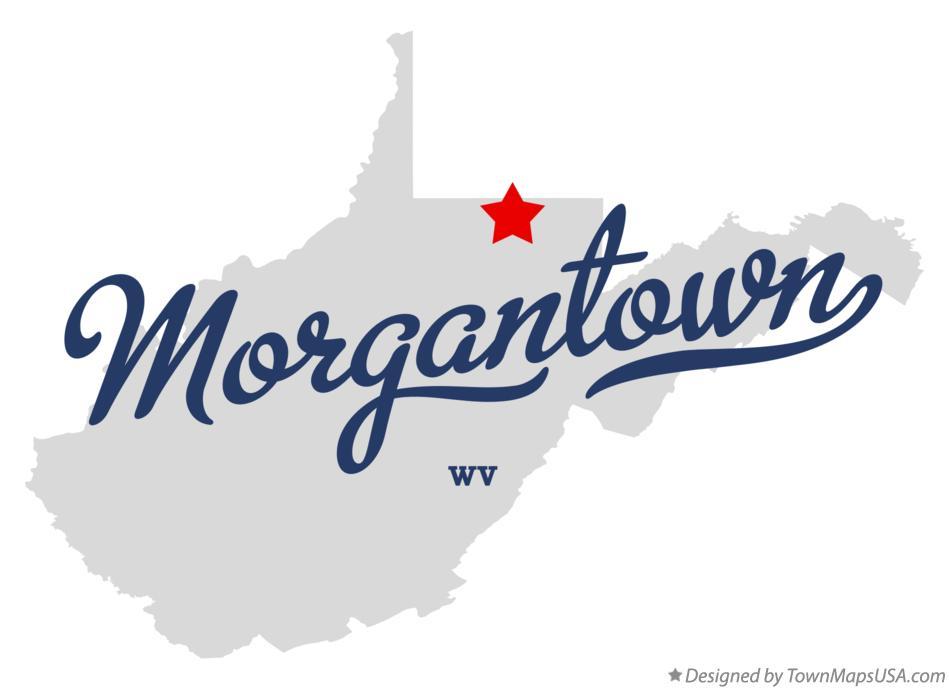 Morgantown Wv Map Map of Morgantown, WV, West Virginia Morgantown Wv Map