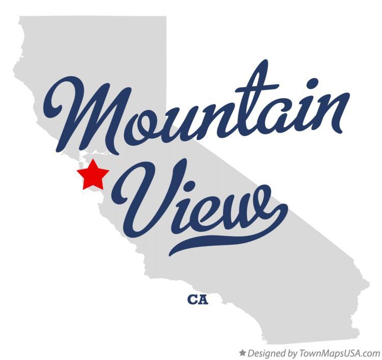 Mountain View Ca Map Map of Mountain View, Santa Clara County, CA, California Mountain View Ca Map