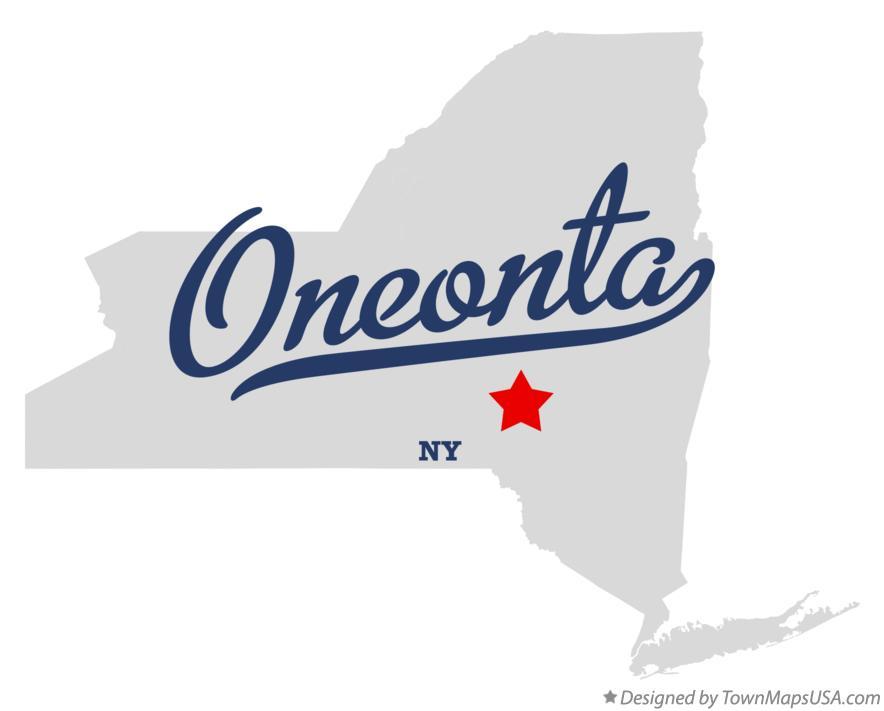 Oneonta Ny Map Map of Oneonta, NY, New York Oneonta Ny Map