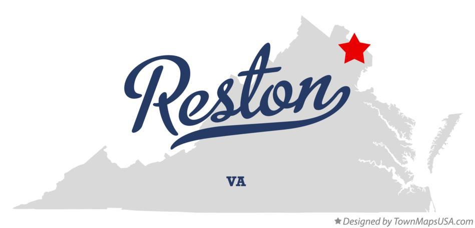 Reston Va Map Map of Reston, VA, Virginia Reston Va Map
