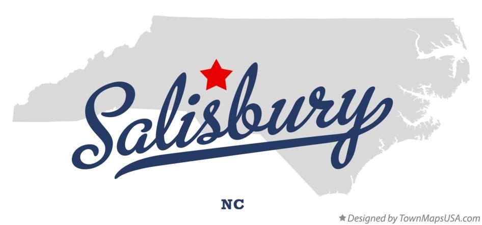 Salisbury Nc Map Map of Salisbury, NC, North Carolina Salisbury Nc Map