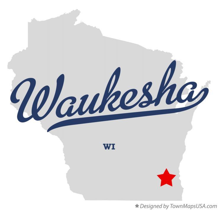 Waukesha Wi Map Map of Waukesha, WI, Wisconsin